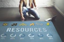 Concept de location de personnes d'environnement de carrière de ressources photos stock