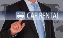 Concept de location de voiture Photos stock