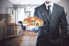 Concept de logement Photographie stock