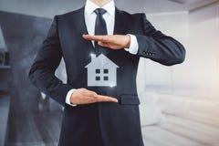 Concept de logement, d'hôtel et d'immobiliers Photographie stock libre de droits