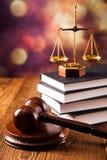 Concept de loi Photographie stock libre de droits