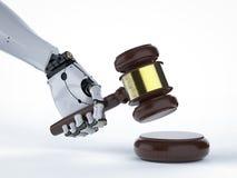 Concept de loi de Cyber Images stock