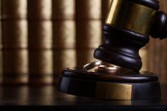 Concept de loi et de justice Images libres de droits