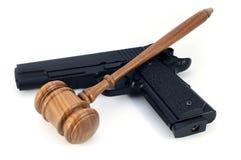 Concept de lois d'arme ? feu images libres de droits