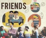 Concept de loisirs d'activité d'amitié d'amis Photos stock