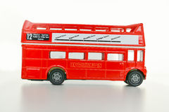 Concept de Londres de visite avec le keychain d'autobus de Londres Image libre de droits