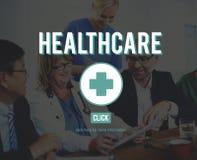 Concept de médecine de la maladie de soins de santé d'hôpital Photo libre de droits