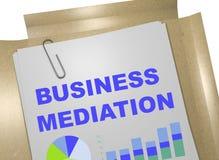 Concept de médiation d'affaires Image libre de droits
