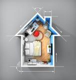 Concept de maison Photo stock