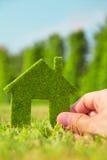 Concept de maison d'Eco Photographie stock