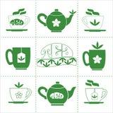 Concept de maison de thé Photographie stock