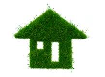 Concept de maison verte Photos libres de droits