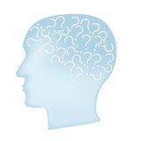 Concept de maladie d'Alzheimer Photos stock