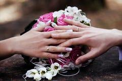 Concept de mariage. photo libre de droits
