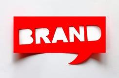 Concept de marque image libre de droits