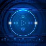Concept de media de Cyber Image libre de droits