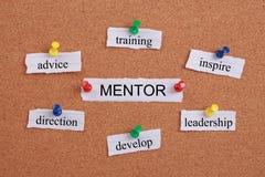 Concept de mentor Photo stock