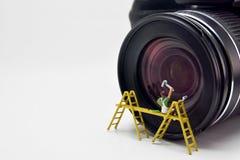 Concept de Minifigure Photos libres de droits