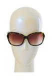 Concept de mode avec des lunettes de soleil Photo libre de droits