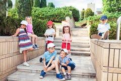 Concept de mode d'enfants Photos stock