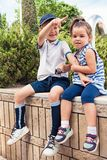 Concept de mode d'enfants Photographie stock libre de droits