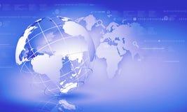Concept de mondialisation Photographie stock