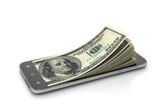 Concept de monnaie électronique Images stock