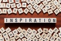 Concept de mot d'inspiration image libre de droits