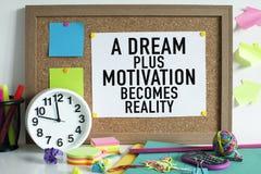 Concept de motivation de succès photos libres de droits