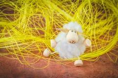 Concept de moutons de Pâques Photos stock