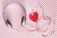 Concept de musique d'amour Image stock