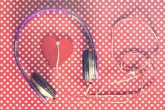 Concept de musique d'amour Photo stock