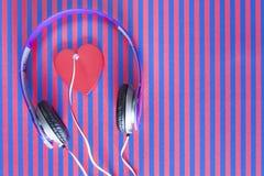 Concept de musique d'amour Images libres de droits