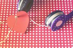 Concept de musique d'amour Photo libre de droits