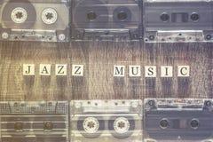 Concept de musique de jazz Image libre de droits