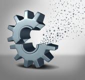 Concept de nanotechnologie Image libre de droits