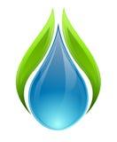 Concept de nature et d'eau illustration de vecteur