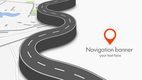 Concept de navigation Photos libres de droits