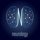 Concept de neurologie Photographie stock libre de droits