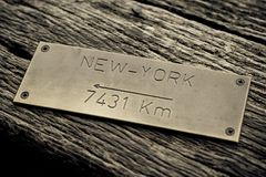 Concept de New York Images stock