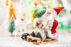 Concept de Noël de carte postale photographie stock libre de droits