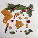 Concept de Noël de nourriture photo libre de droits