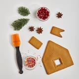Concept de Noël de nourriture photographie stock