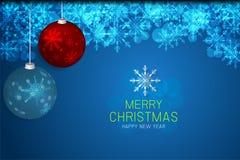 Concept de Noël et d'an neuf Image libre de droits