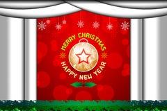 Concept de Noël et d'an neuf Photographie stock libre de droits