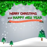 Concept de Noël et d'an neuf Images libres de droits