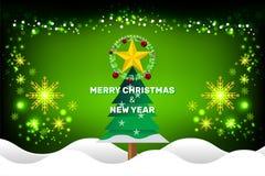 Concept de Noël et d'an neuf Images stock