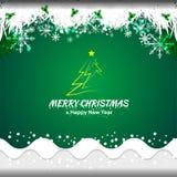 Concept de Noël et d'an neuf Photo libre de droits