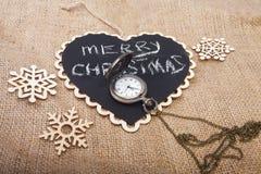 Concept de Noël et de nouvelle année sur la toile Images libres de droits