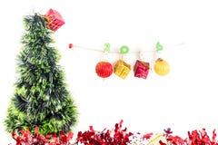Concept de Noël, fond abstrait pendant la bonne année 2016 Image libre de droits